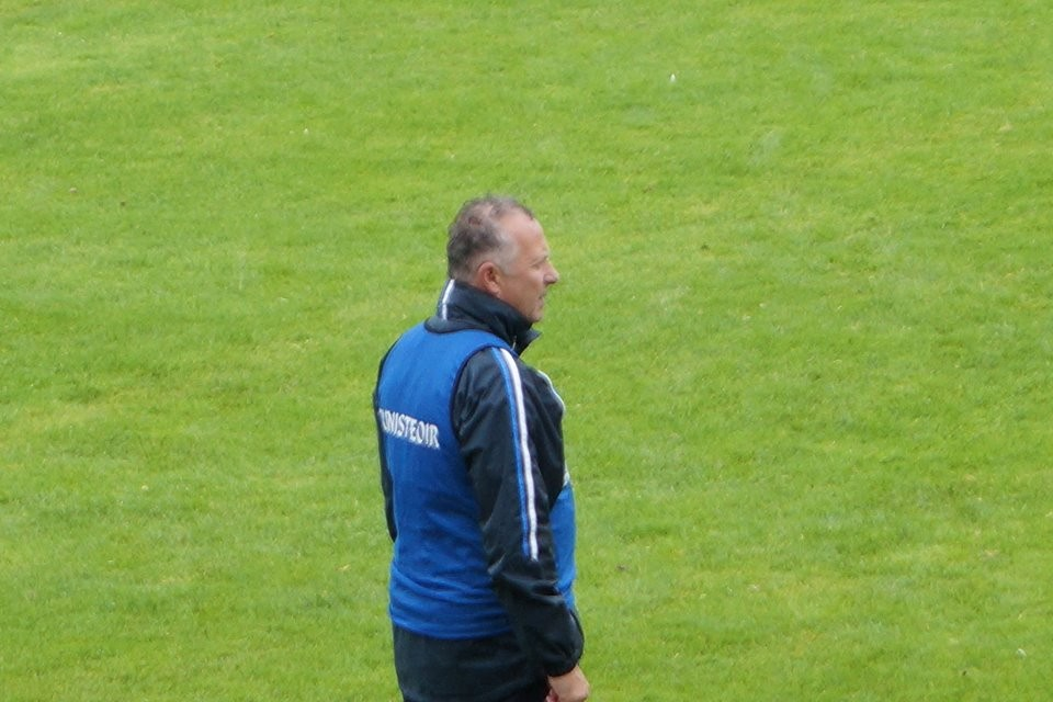 Laois manager, Mick Lillis. Pic: Ann Hayes