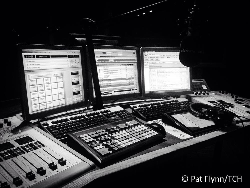 Clare FM Studio. Photo: © Pat Flynn 2016