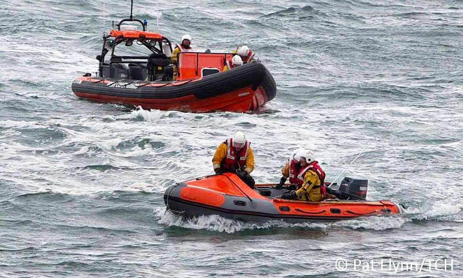 Doolin Coast Guard launched on boat while the other was put on standby -File Photo: © Pat Flynn 2015