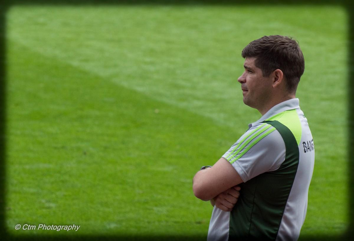 Kerry manager, Éamonn Fitzmaurice. Pic: John Moylan