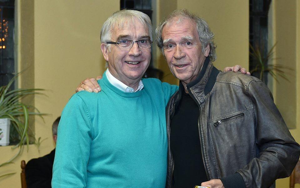 Oliver O'Connell & Finbar Furey. Pic: Martin Connolly