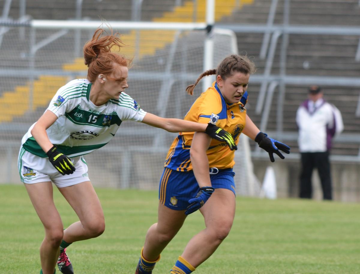 Eva O'Dea is ruled out through injury. Pic: David Dillon