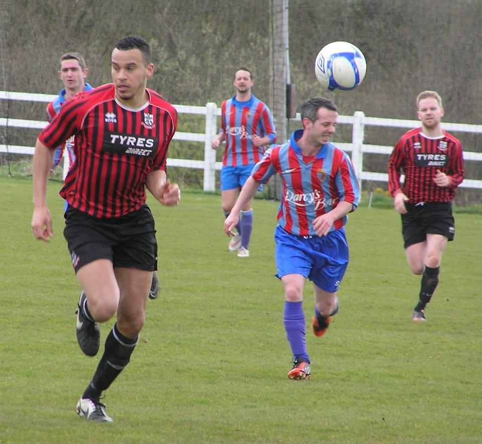 Johnny Okoro returned to action for Bridge Utd. Pic: Oliver Fitzpatrick
