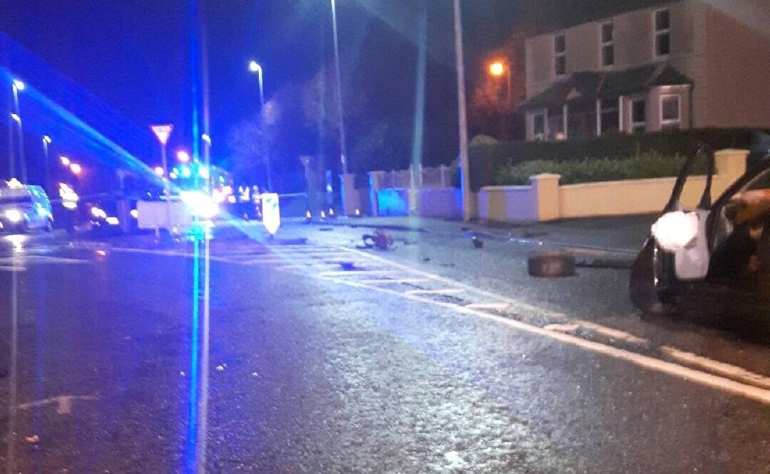 Sheil's roundabout collision