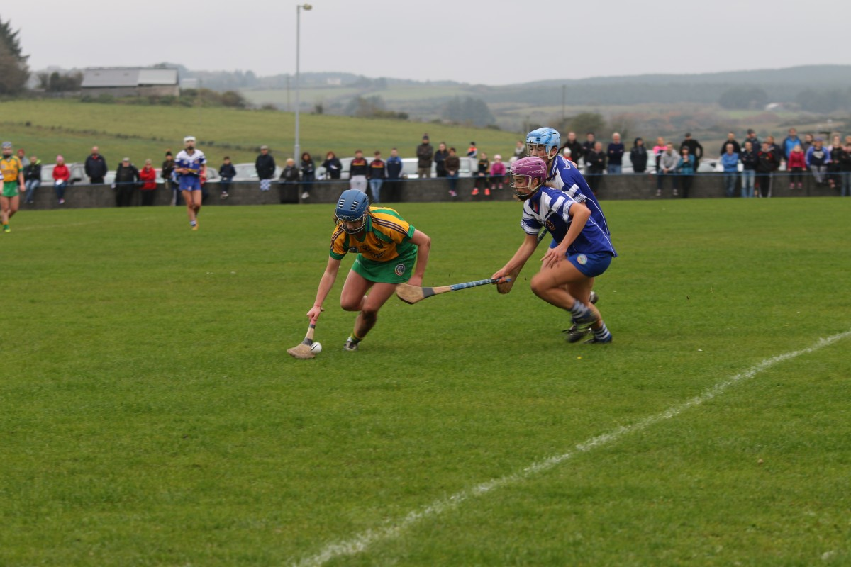 Aoife Keane attempts to secure possession. Pic: Caroline O'Keeffe