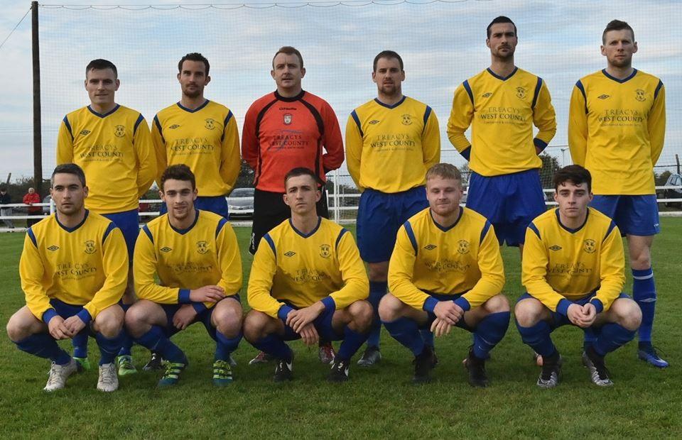 Clare's Oscar Traynor team. Pic: Martin Connolly