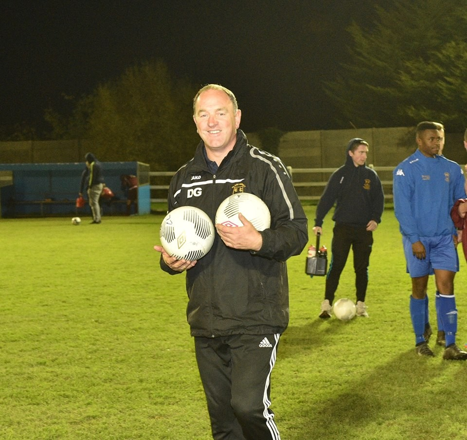 Clare Oscar Traynor manager, Donie Garrihy. Pic: Martin Connolly