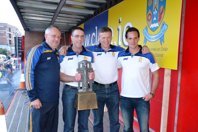 Jimmy Browne, Gerry O'Connor, Donal Moloney & Paul Kinnerk.