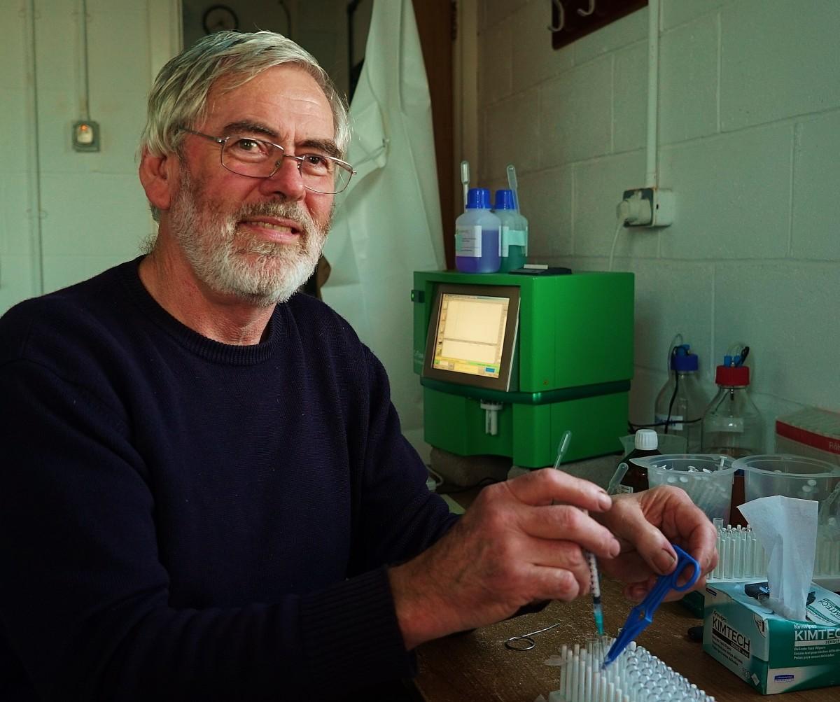 Iarfhlaith Connellan. Pic: Peter Moffett