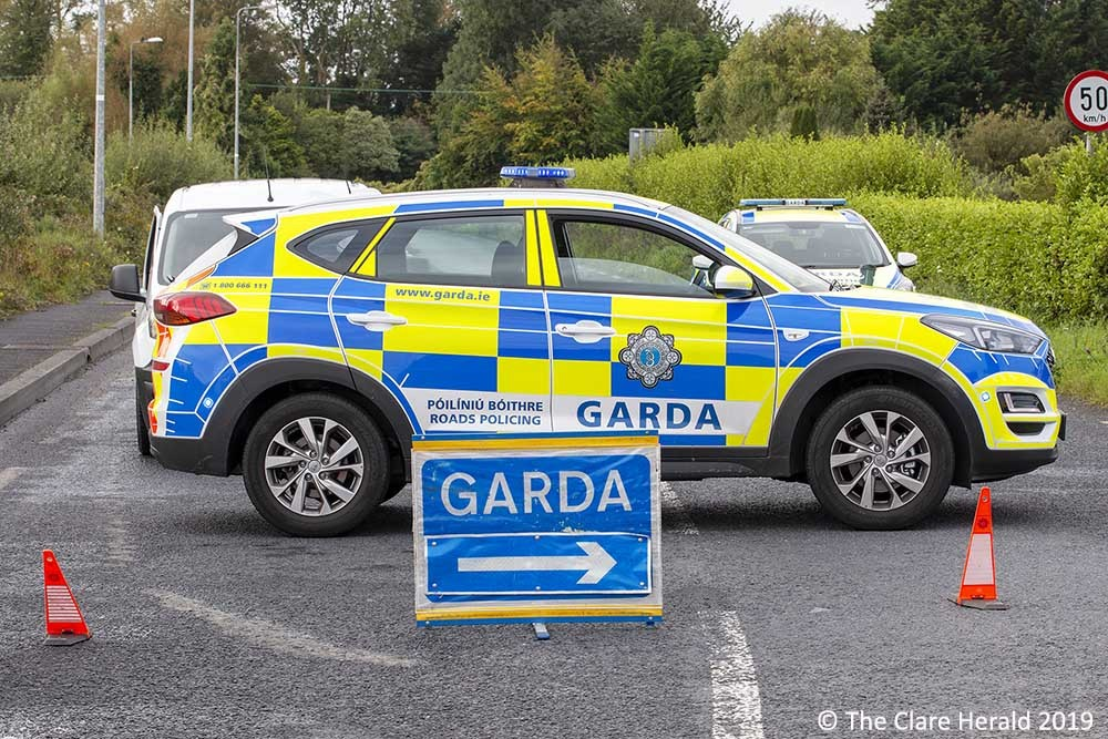 The R464 was closed following the collision - © The Clare Herald 2019