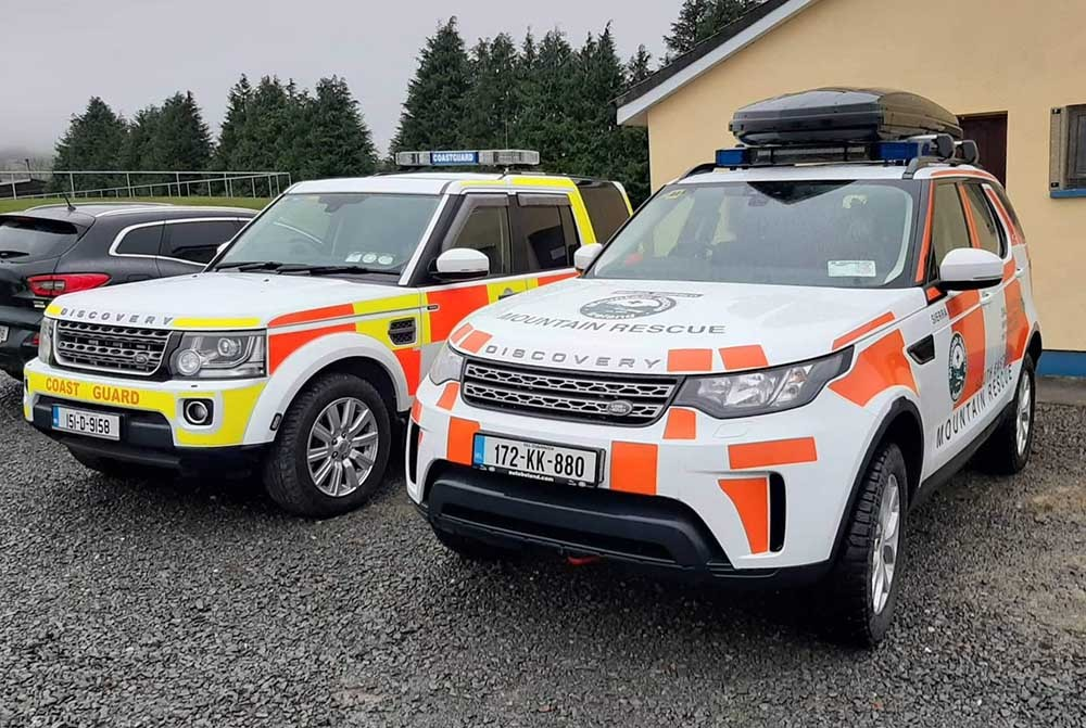 Killaloe Coast Guard and South Eastern Mountain Rescue are assisting in the search
